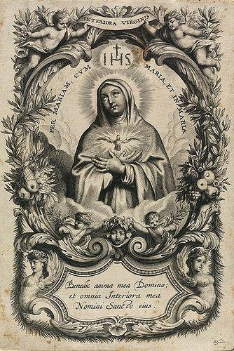 Ven, Espíritu Santo, ven, por medio de la poderosa intercesión del Inmaculado Corazón de María, vuestra amadísima esposa.