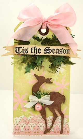 12 Tags of Christmas With a Feminine Twist 2011 - Day 9 by Becky Olsen
