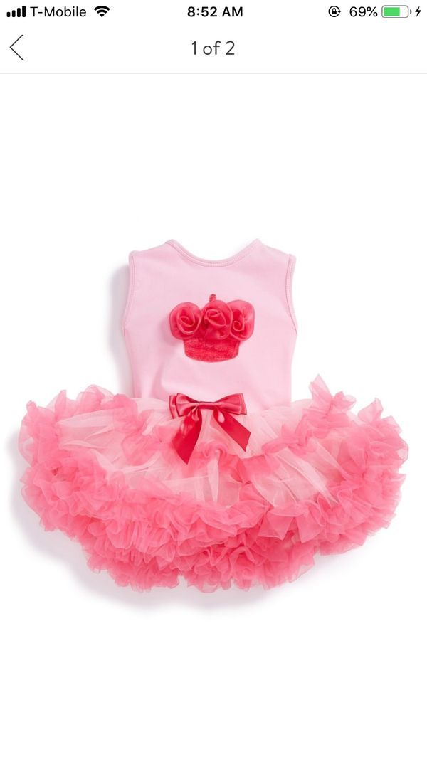 ed093b87636f Popatu infant birthday dress 12 months for Sale in Oakland Park, FL ...