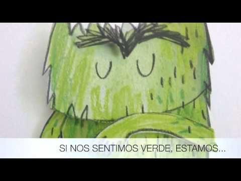 EL MONSTRUO DE COLORES..Y TÚ ¿DE QUE COLOR TE SIENTES? - YouTube