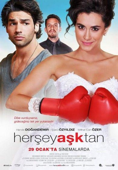 Romantik Komedi türü film olan Her Şey Aşktan izle, Pelin adında genç bir kızın evlilik hayali kurduğu adam tarafından ihanete uğraması ve bundan sonra ona karşı intikam planlarını anlatıyor. #herseyasktan #fullizle