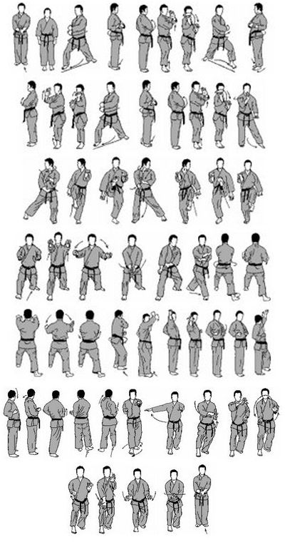 karatedo-ryu: Saifa kata (goju-ryu)