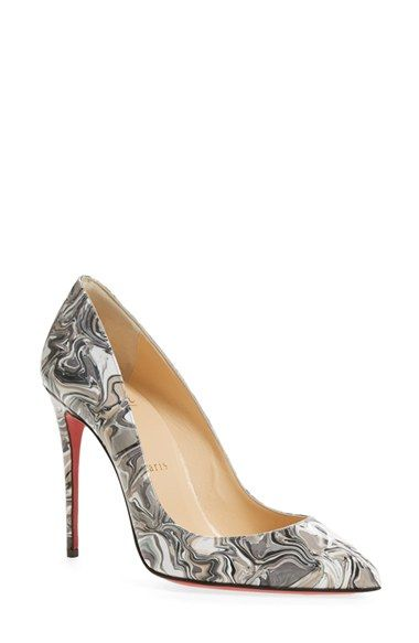 Christian Louboutin 'Pigalle Follies' Dégradé Pointy Toe Pump available at #Nordstrom