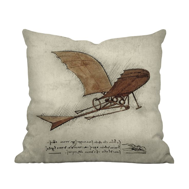 Best Throw Pillow Covers Part - 17: Airplane Enthusiasts And History Lovers Alike Are Sure To Love This  Charming Throw Pillow Design.