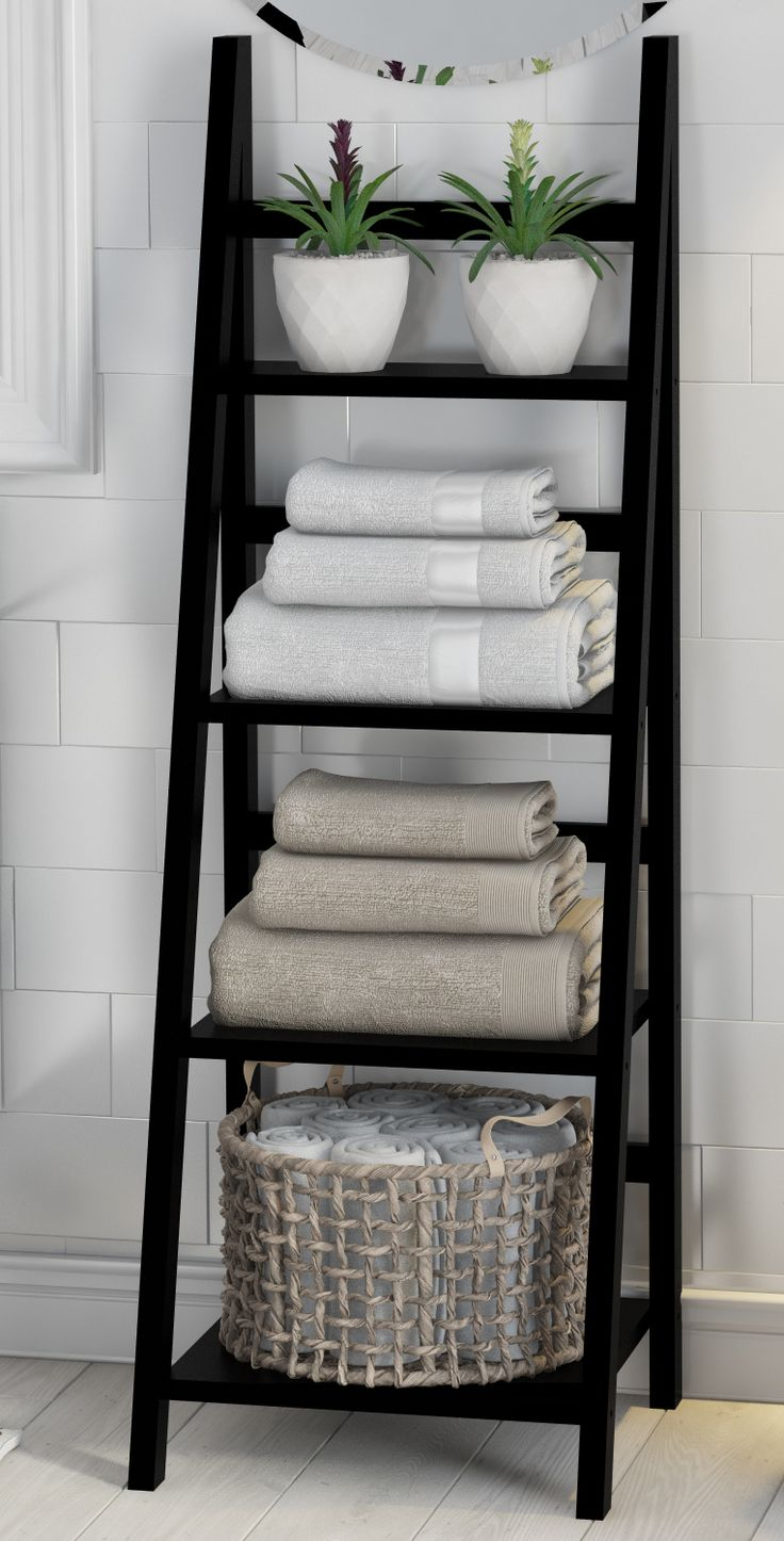 Estante para el baño #BathroomIdeasStorage
