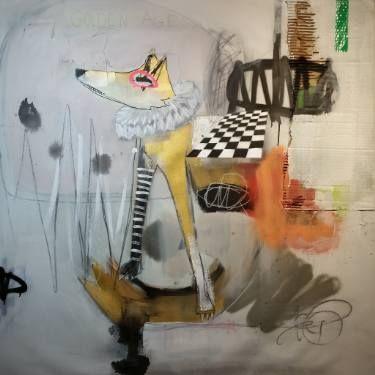 "Saatchi Art Artist Jérôme Rochette; Painting, ""Golden Age"" #art"