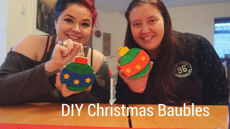 DIY Christmas Baubles || Autism Days of Christmas #8