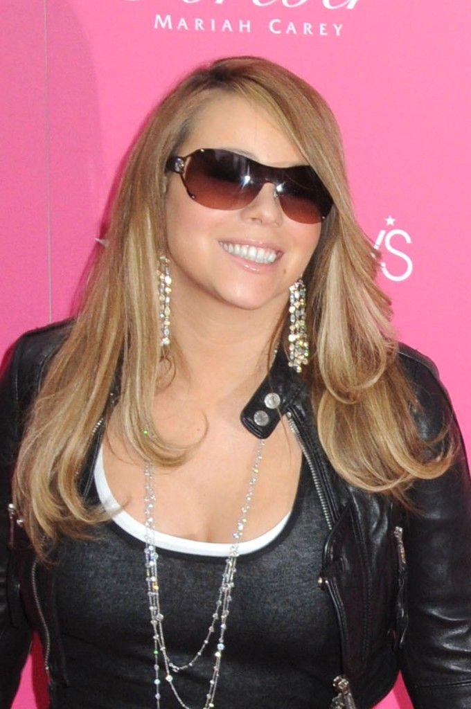 Mariah Careys long sexy hairstyle