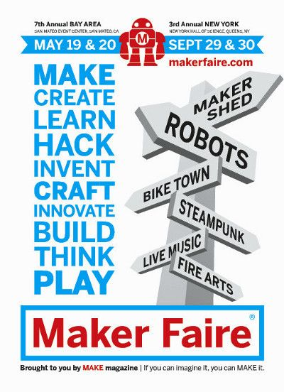 Postcard for Maker Faire