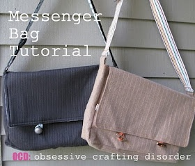 ocd: obsessive crafting disorder: Bag Lady Week- Messenger Bag Tutorial: Messenger Bag Tutorials, Pattern, Obsession Crafts, Purse, Lady Week, Crafts Disorders, Bags Lady, Diy, Messenger Bags Tutorials