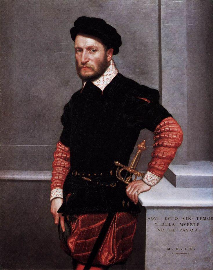 Portrait of Don Gabriel de la Cueva by Giovanni Battista Moroni (1550-1560)