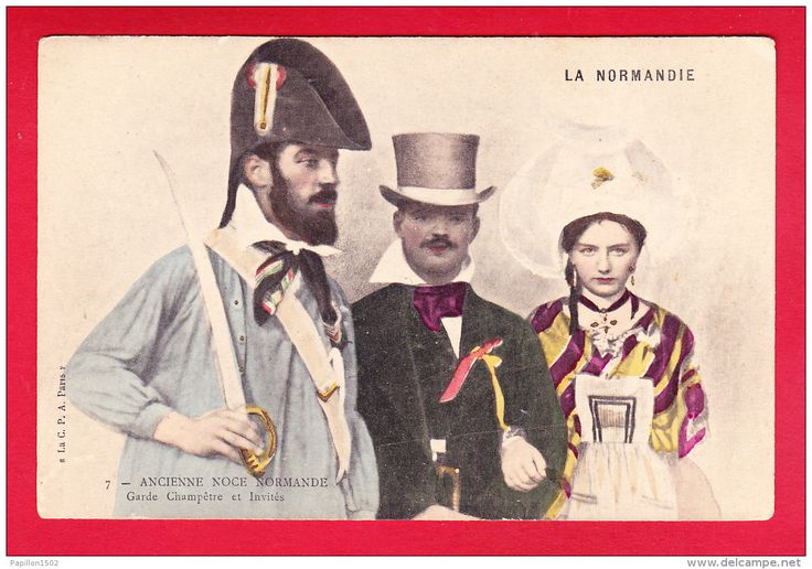 http://www.delcampe.net/page/item/language,F,id,0394313967,var,F-Normandie-38P242-ancienne-noce-normande-garde-champetre-et-invites-cpa-colorisee-precurseur-BE.html