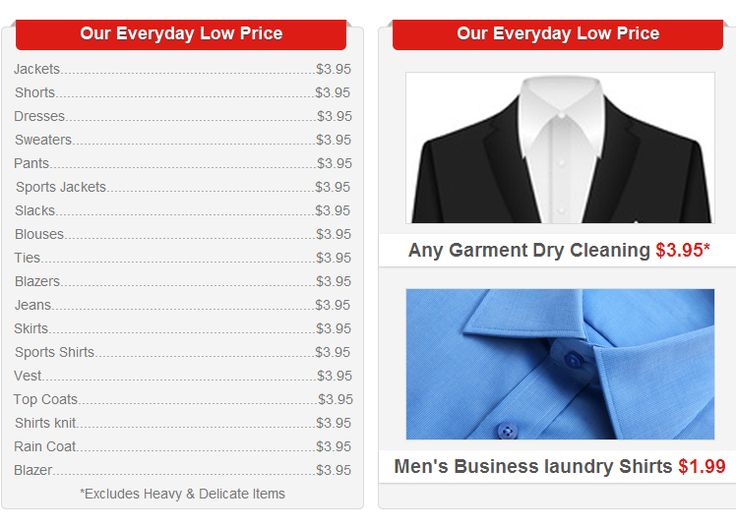 dry cleaning prices cleaners naples 3 95 one price cleaning naples 30704