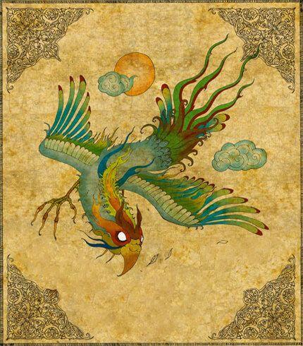 Türk Mitolojisi Kuzu Kuzu Kuşu