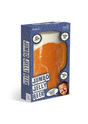 Giant Jelly Beer, Alcohol free.From Voodle.co.nz