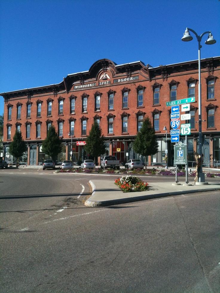 The Winooski Block Vermont