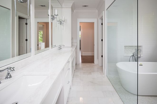 Bathroom Floor Tile Carrera White 8x12 polished #bathroom ...