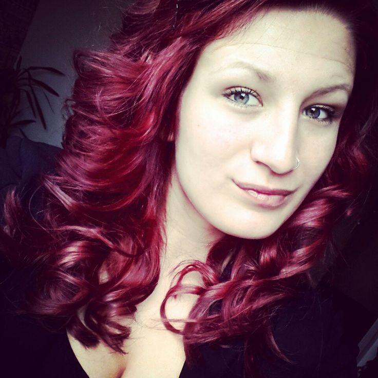 Eindelijk mijn haar rood geverfd! Love it.