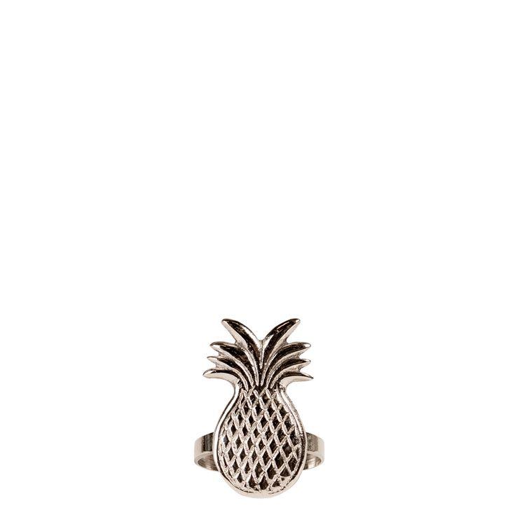 ByON Tropical Napkin Ring, Silver | Prezola - The Wedding Gift List