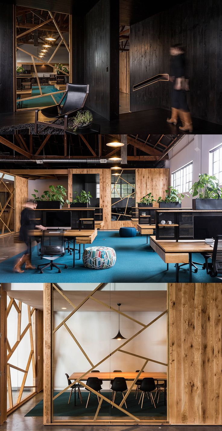 Wooden Wonder Office Design by Fieldwork Design and Architecture