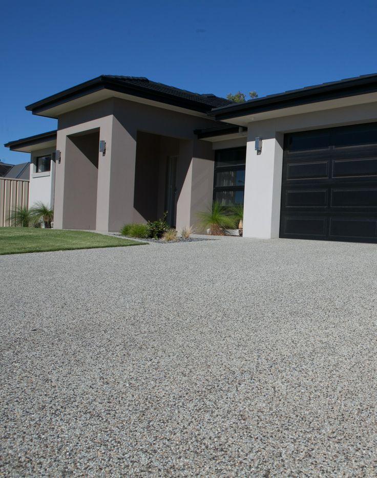 Avoca mix exposed aggregate driveway http://www.mawsons.com.au/