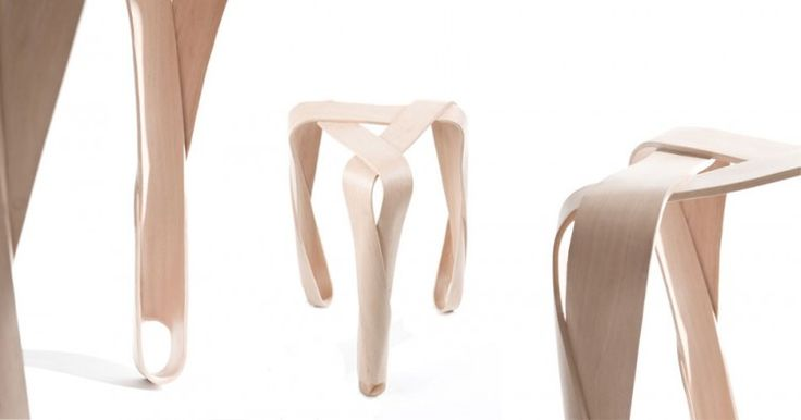 Awarding Winning Ribbon Stool By Jan Lutyk / Lightweight And Stackable |  Naturally! | Pinterest | Products, Stools And By