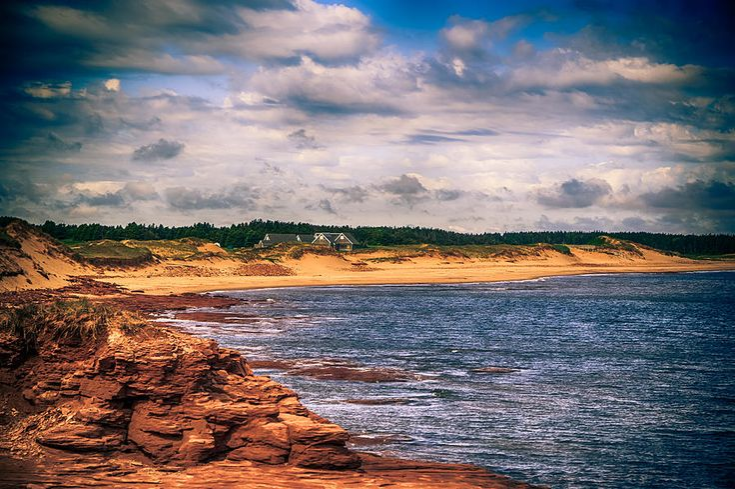 Prince Edward Island Coast Photograph by James Gordon Patterson