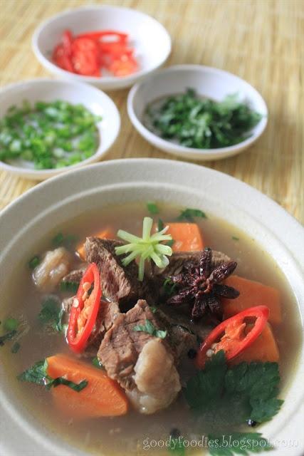 Recipe: Sarawak braised beef soup