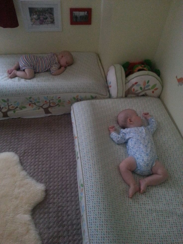 Montessori Style Sleeping Arrangements. Wonderful alternative to putting your child in a cage-like crib.