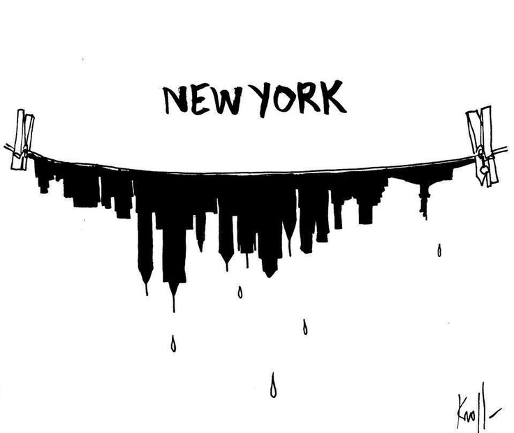 New York after sandy by Kroll