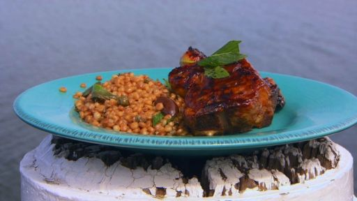 Alive and Cooking | Sticky Lamb Chops