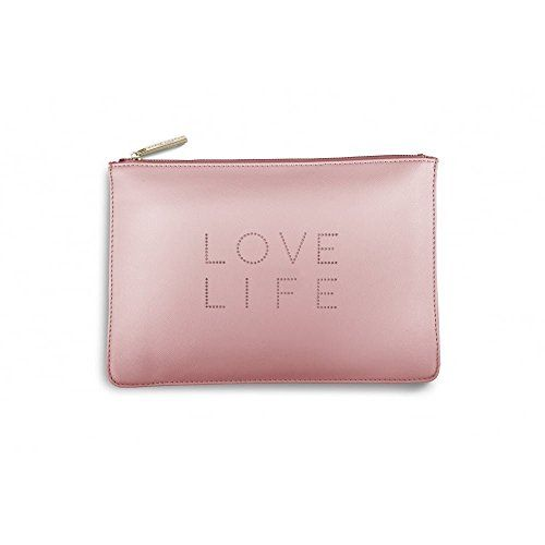 Katie Loxton Love Life Polka Dot Pouch Clutch bag      #planner #planning #organised #filofax  #success #bossbabe #homeoffice #diary #stationery #macbook #laptop #instagram #style #mug #princess #blogging #blog #instagram #katieloxton