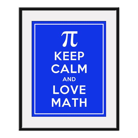 Keep calm and love math! #mattamatica