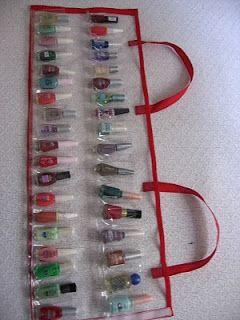 Vancrisk Arteira=): Como fazer uma bolsa para esmaltes PAP