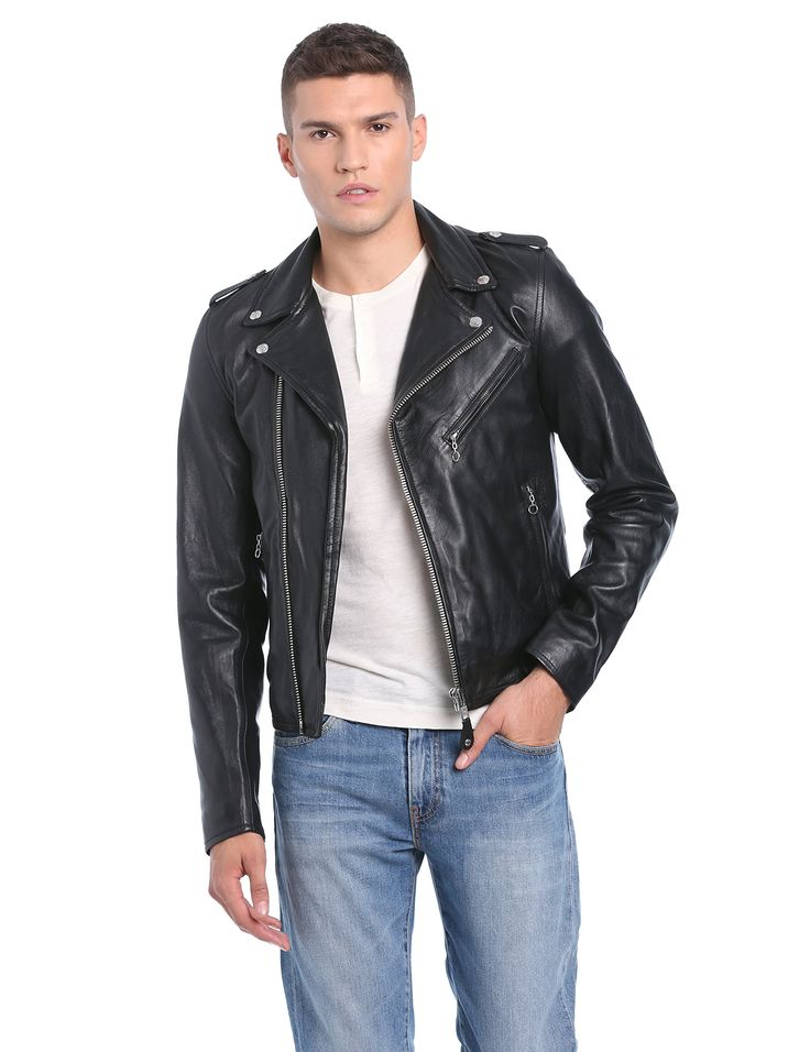 Schott Nyc LC1140 - Blouson - Manches longues - Homme - Noir (Black) - Large (Taille fabricant: L)