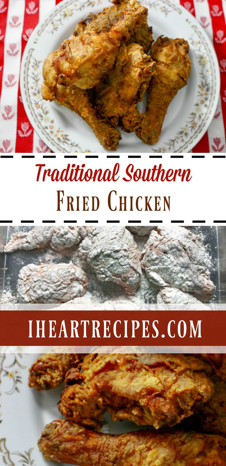 How to make crispy & juicy Traditional Southern Fried Chicken just like your Grandma (or mom)! I just love southern fried chicken, but I'm sure that you all know that by now. I don'…