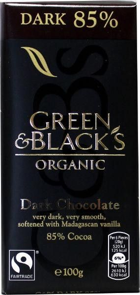 Bekijk dit nieuwe #naturalbrands.nl product  Green & Black | Chocolade puur 85% 100g - Chocolade puur 85% - Price: €2.50. Buy now at https://www.naturalbrands.nl/green-black-chocolade-puur-85-100g