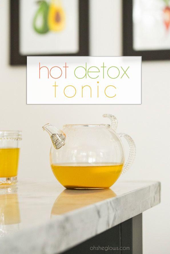 My Favourite Hot Detox Tonic — Oh She Glows