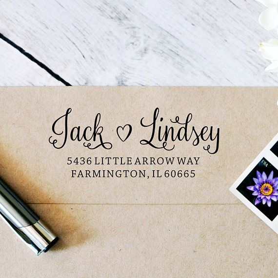 Return Mail Stamp Self Inking Stamp Personalized Stamper