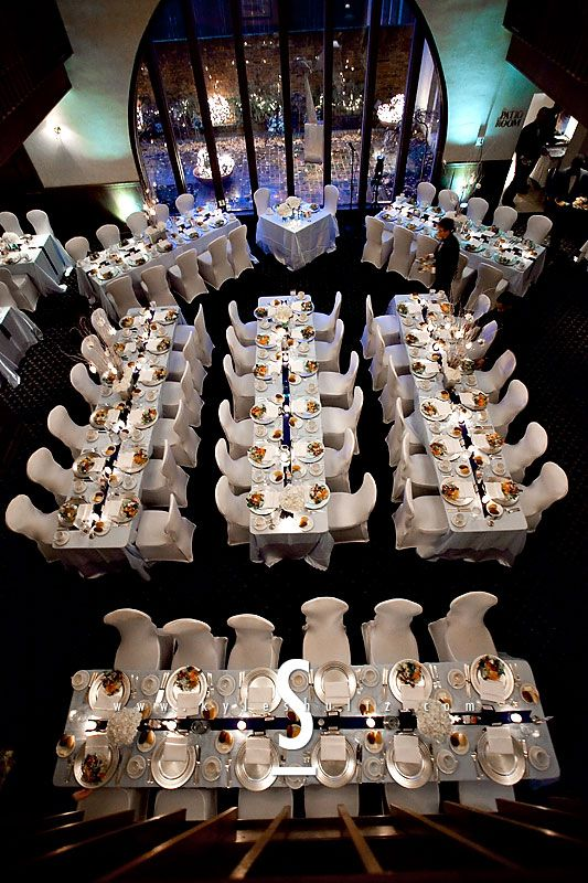 Reception by James M Designs  Flowers, lighting, linens