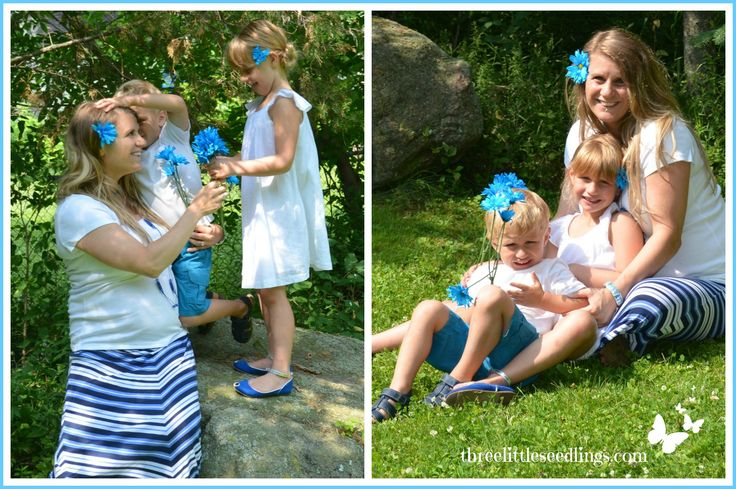 Do your own fun Gender Announcement Photo Shoot! Great tip for taking outdoor photos - www.threelittleseedlings.com