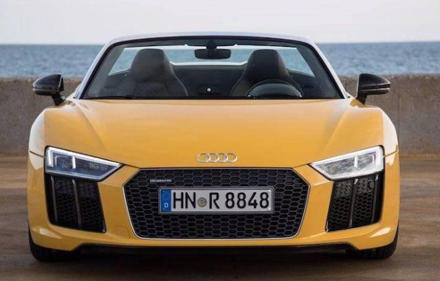 2018 Audi R8 Spyder Specs, Redesign, Rumors, Change, Price, Release Date