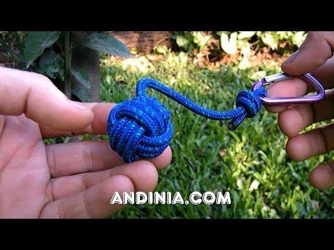 Nudo puño de mono, navidad y supervivencia - Turk's head knot Christmas - Nó de Cabeça de Turco - YouTube