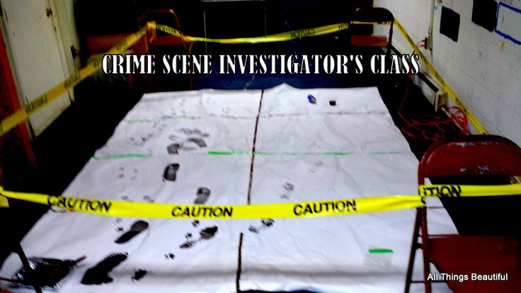 USE THIS FOR 2016 SUMMER! All Things Beautiful: CSI: Setting Up a Forensics Science Class Crime Scene