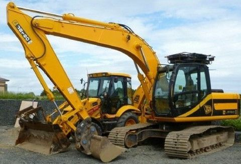 Click On The Picture To Download Jcb Js130 Js160 Tracked Excavator Service Repair Workshop Manual