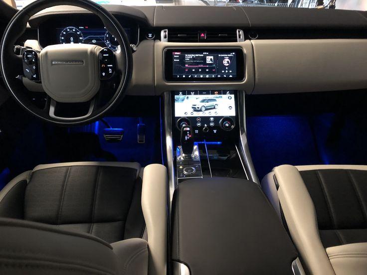 2018 Range Rover Sport Dynamic Interior ebony/ivory seat