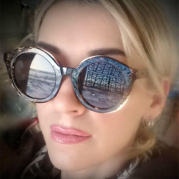 Round Vintage Sunglasses Women Brand Designer Retro Circle Sun glasses for men lunette de soleil oculos de sol feminino shades