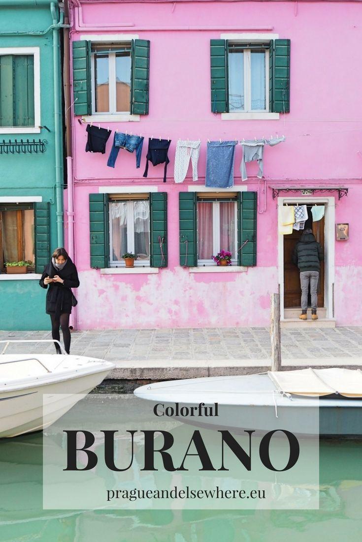 explore colorful Burano in Italy