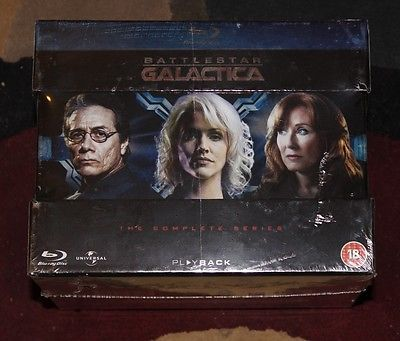 *NEW* Battlestar Galactica: The Complete Series [Blu-ray] [Region Free] 20 DISCs - http://hooligansentertainment.com/2014/02/05/new-battlestar-galactica-the-complete-series-blu-ray-region-free-20-discs/