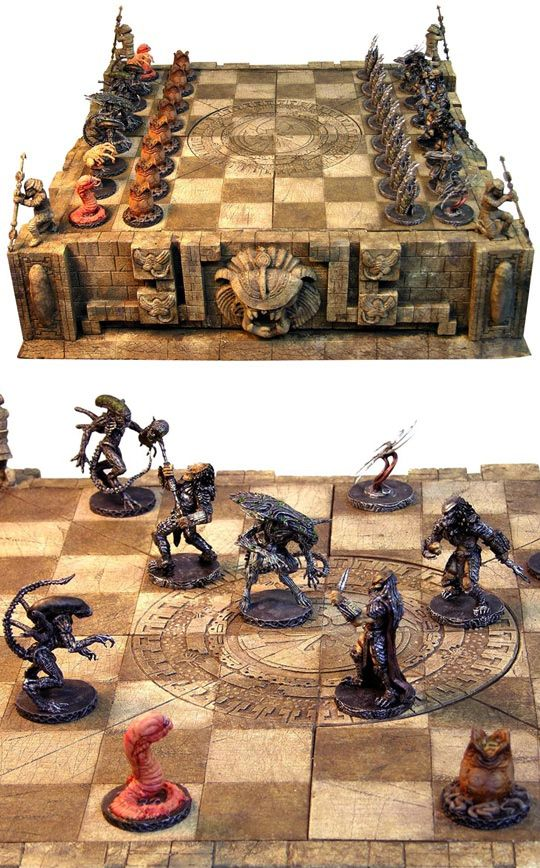 Alien vs. Predator Chess